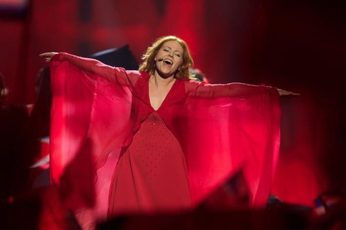 Валентина Монетта из Сан-Морино во втором полуфинале Евровидения-2013. Фото: Ragnar Singsaas/Getty Images