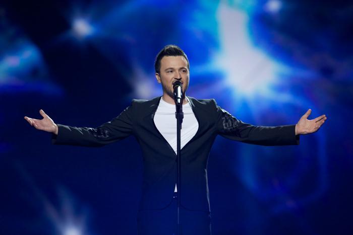 Дуэт Esma & Lozano из Македонии во втором полуфинале Евровидения-2013. Фото: Ragnar Singsaas/Getty Images