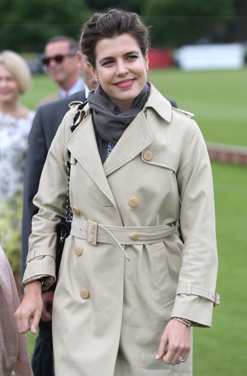 Шарлота Казираги посетила королевский турнир по поло. Фото: Chris Jackson/Getty Images