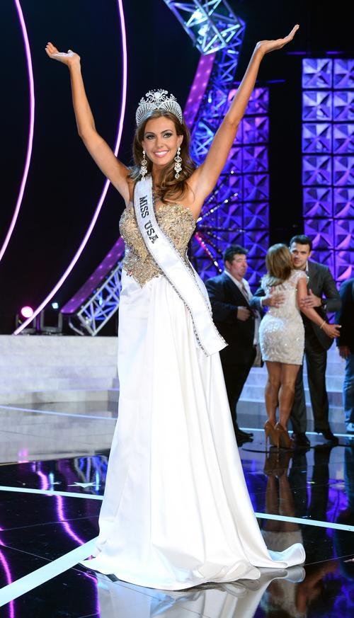 Мисс США 2013 стала представительница Коннектикута 25 летняя Эрин Брейди. Фото: Ethan Miller/Getty Images