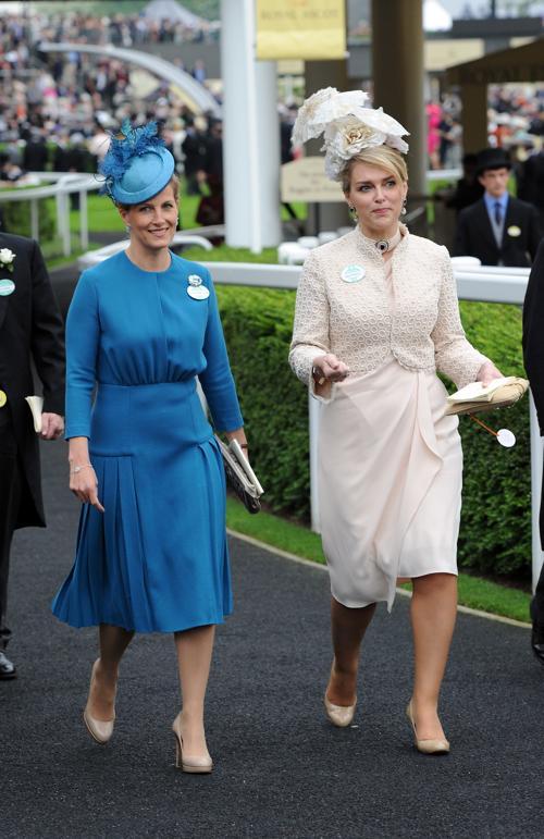 Графиня Уэссекса Софи прибыла на скачки Royal Ascot. Фото: Eamonn M. McCormack/Getty Images