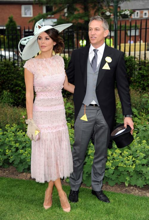 Футболист Гари Линекер с супругой моделью Даниэль Линекер прибыли на скачки Royal Ascot. Фото: Eamonn M. McCormack/Getty Images