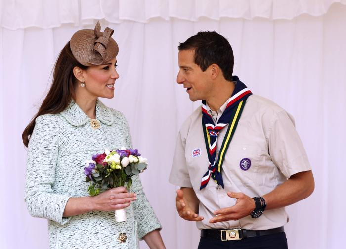 Герцогиня Кембриджская посетила парад королевских скаутов. Фото: Ben Gurr - WPA Pool / Getty Images