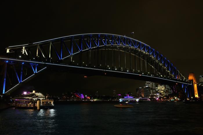 Фестиваль света и музыки стартовал в Сиднее. Фото: Cameron Spencer/Getty Images