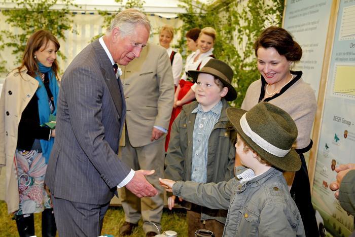 Принц Чарльз посетил симпозиум в Лангенбурге (Германия). Фото: Thomas Niedermueller/Getty Images