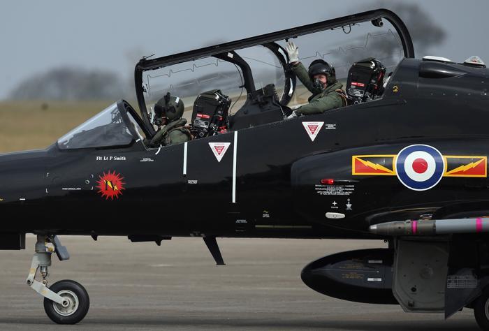 Классические самолёты британских ВВС впервые представили публике. Фото: Matt Cardy/Getty Images