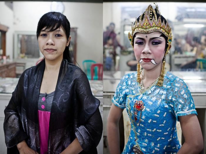 Традиционную яванскую драму Человек Марионетка исполнили в Индонезии. Фото: Ulet Ifansasti/Getty Images
