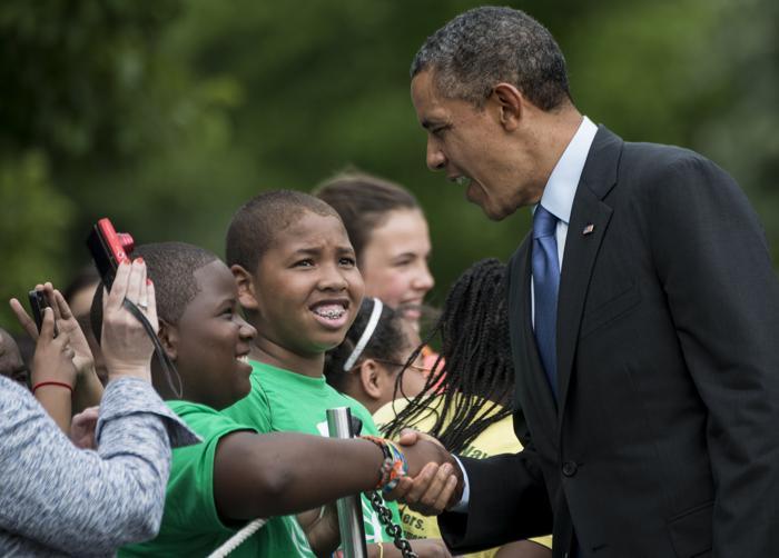 Барак Обама прибыл из поездки в пострадавшие от торнадо районы США. Фото: BRENDAN SMIALOWSKI/AFP/Getty Images