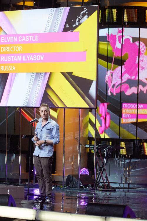Рустам Ильясов на закрытии фестиваля ММКФ в Пушкинском. Фото: Oleg Nikishin/Getty Images for Artefact