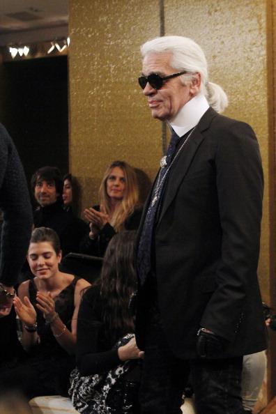Карл Лагерфельд, 7 декабря 2010 год, Париж, Франция. Фото: FRANCOIS GUILLOT/AFP/Getty Images