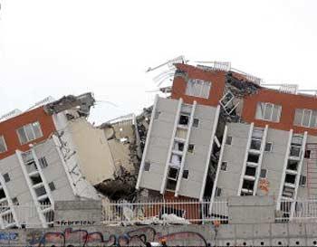 Сильнее всего пострадал Консепсьон - второй по величине город Чили. Фото: MARTIN BERNETTI/AFP/Getty Images