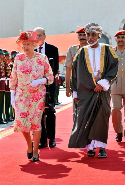 Королева Великобритании Елизавета II в Омане, 28 ноября 2010 года. Фото: John Stillwell - WPA Pool/Getty Images