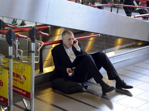 В Европе авиасообщение полностью парализовано. Фото: TOUSSAINT KLUITERS/AFP/Getty Images