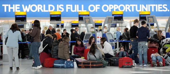 В Европе авиасообщение полностью парализовано. Фото: Dan Kitwood/Getty Images