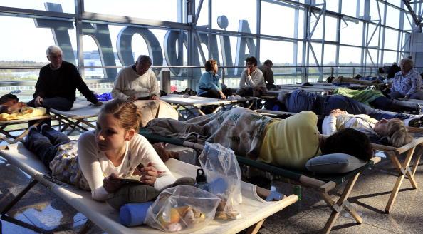 В Европе авиасообщение полностью парализовано. Фото: TORSTEN SILZ/AFP/Getty Images