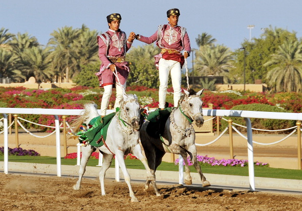 Прием Елизаветы II в Омане, 27 ноября 2010 года. Фото: Chris Jackson/Getty Images