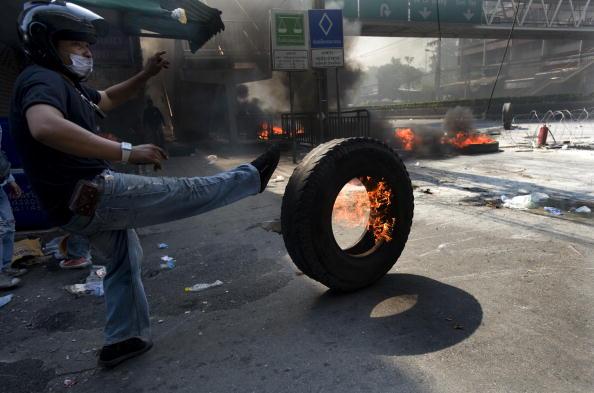 Тайланд. Обстановка огнеопасная. Фото:Andy Nelson /Getty Images
