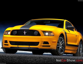 2013 Ford Mustang Boss. Фото предоставлено NetCarShow.com
