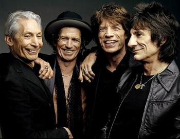 Знаменитая британская группа «Роллинг стоунз» (The Rolling Stones). Фото: musique.ados.fr