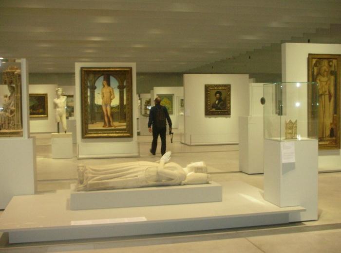 Галерея Времени в музее Ланс-Лувр Фото: Беверли Манн