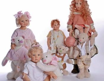 Куклы и мягкие игрушки. Фото: hqoboi.com