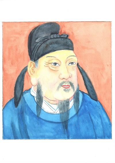 Император Гао Цзу, Ли Юань — снисходительный и терпеливый правитель. Иллюстрация: Киёка Чу