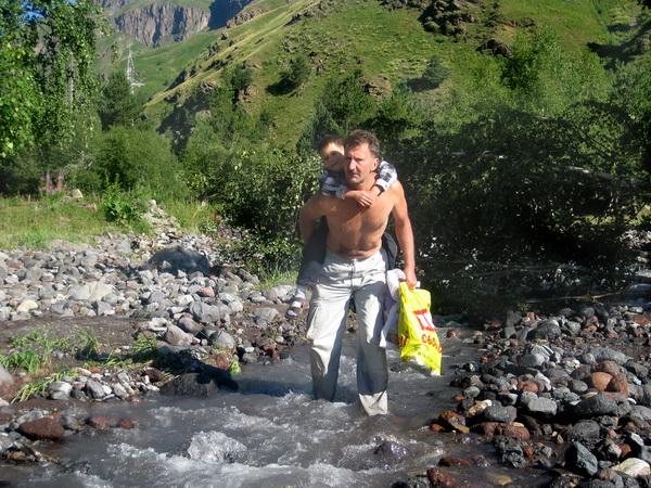 В горах Кавказа. Фото Игоря Выдыша