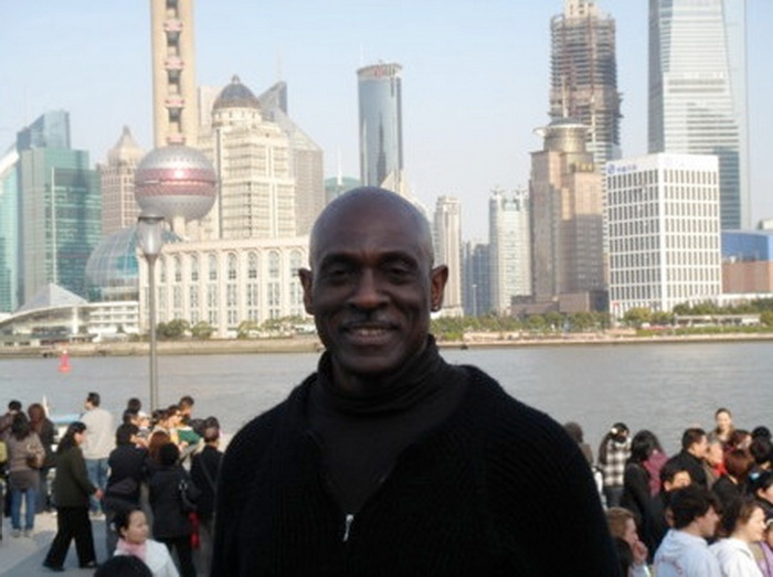 Доктор Линн Найт в Шанхае, Китай, 2008 год. Фото: Dr. Lynn Knight