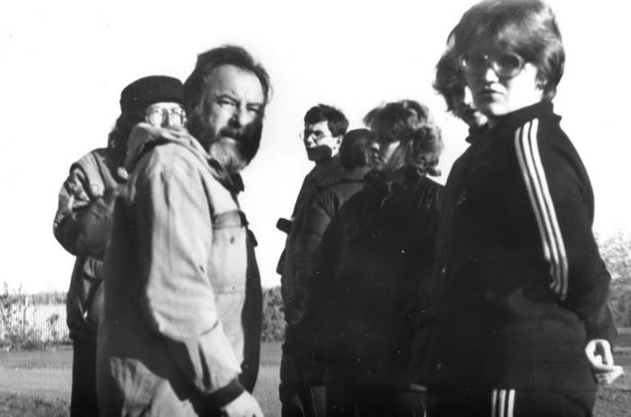 Экспедиция в Краслаг. На переднем плане Сиротинин, за ним – Биргер. Фото предоставлено А. Бабием