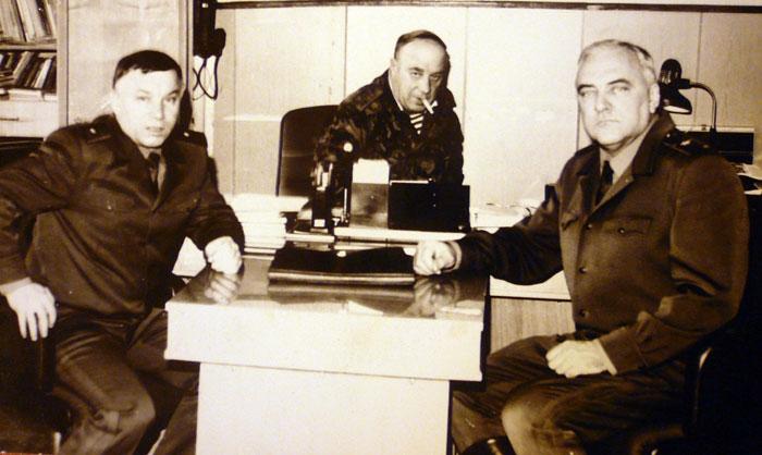 Генерал армии Куликов А.С., Феодоров Г.А., генерал-лейтенант Косолапов Ю.А. Фото из архива Гарри Феодорова