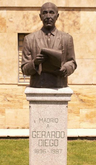 Памятник Херардо Диего в Мадриде. Фото: institutovirgendelcarmen.es
