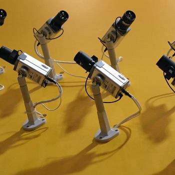 Системы видеонаблюдения. Фото РИА