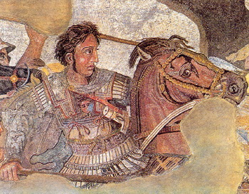 Александр Македонский. С сайта wikipedia.org