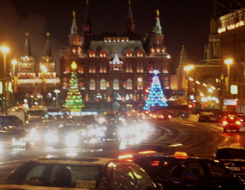 Ночная Москва. Фото: Николай Богатырёв