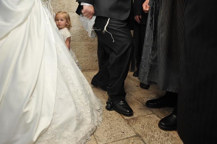 Необычная свадьба. Фото: Шломо Пучинский