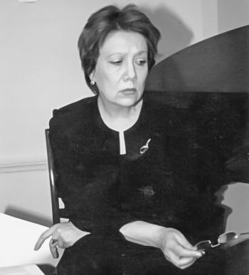 Поэт Ольга Ильницкая. Фото: Александр Гусев