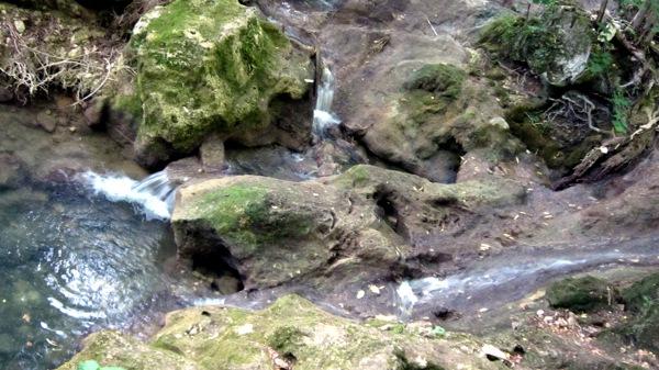 Крым. Урочище Красных пещер. Водопад Су-Учхан. Фото: Надежда Калинина