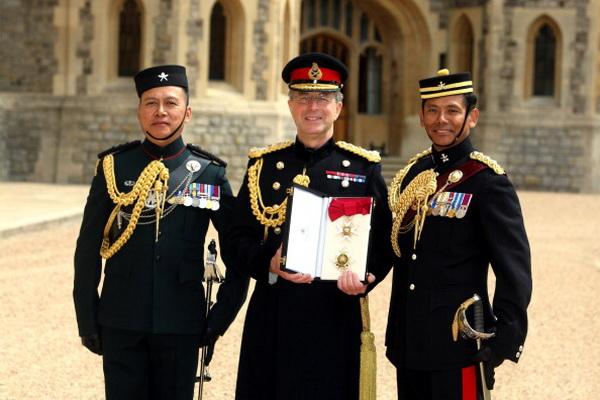 Фоторепортаж с церемонии награждения в Виндзорском замке. Фото: Steve Parsons - WPA Pool/Getty Images