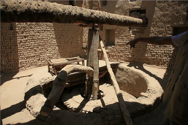 Старинная мучная мельница в старом городе в Аль-Касре. Фото: Яйра Ясмин/Великая Эпоха