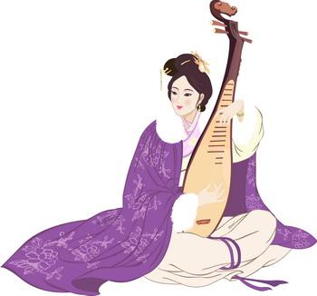 Чжаоцзюнь, мирная красота. Иллюстрация: Yu-Child/Великая Эпоха (The Epoch Times)