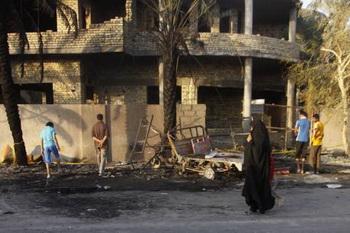 Атака террориста-смертника в Ираке. Фото: abendblatt.de