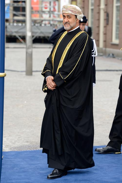 Принц Омана Хайтам бен Тарик Аль-Саид на официальной церемонии принятия присяги короля Виллема-Александра в Нидерландах 30 апреля 2013 года. Фото: Pascal Le Segretain/Getty Images