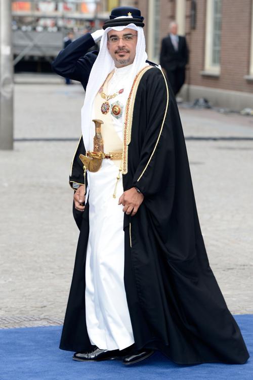 Наследный принц Сальман Бен Хамад Аль-Халифа из Бахрейна на официальной церемонии принятия присяги короля Виллема-Александра в Нидерландах 30 апреля 2013 года. Фото: Pascal Le Segretain/Getty Images