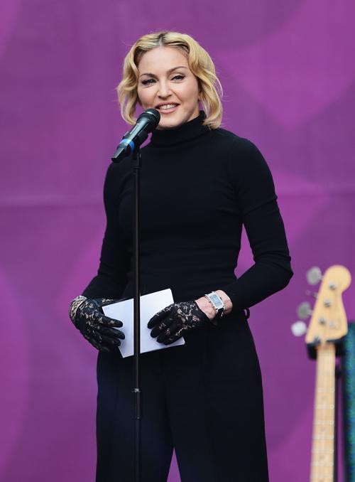 Мадонна на концерте в защиту женщин в Лондоне. Фото: Ian Gavan/Getty Images for Gucci