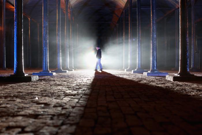 Резервуар водохранилища викторианской эпохи откроют для публичного просмотра в английском Ливерпуле как часть наследия страны. Посетить его можно будет 6 сентября с 10 часов утра до 4 часов дня. Фото: Christopher Furlong/Getty Images