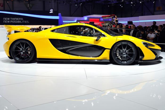 McLaren P1 на автосалоне в Женеве 5 марта 2013 года. Фото: Harold Cunningham/Getty Images