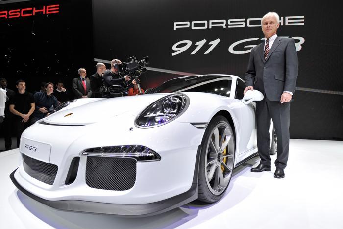 Porsche AG и генеральный директор Маттиас Мюллер. Фото: Harold Cunningham/Getty Images