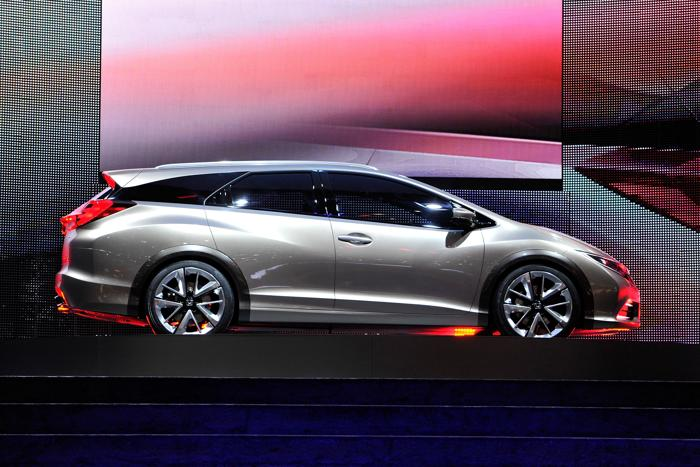Honda Civic Tourer Concept. Фото: Harold Cunningham/Getty Images