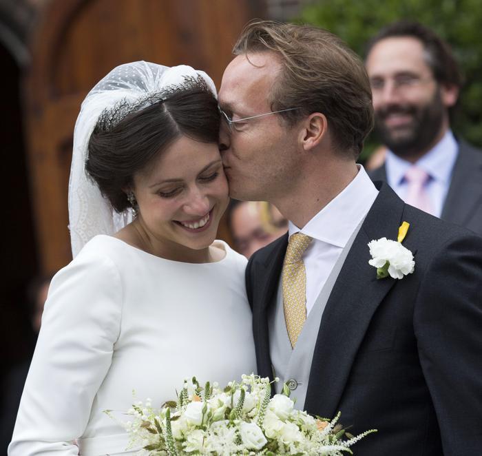 Принц Хайме де Бурбон-Парме, двоюродный брат короля Нидерландов Виллема-Александра, женился 5 октября 2013 года на венгерке Виктории Червеняк. Фото: Michel Porro/Getty Images