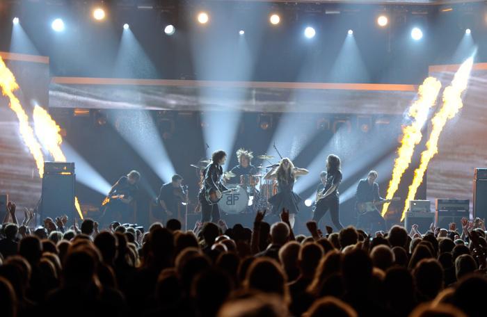 Шоу лучших исполнителей кантри 2013 прошло в Лас-Вегасе. Фото: Ethan Miller / Getty Images